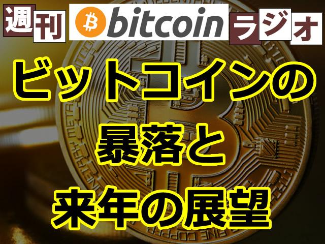 ビットコイン暴落と2018年の展望